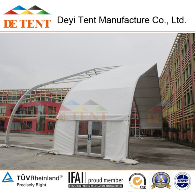China Best Manufacturer of Big Curved Tents for Wedding Going to India
