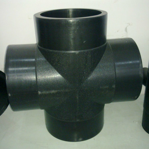 HDPE Pipe Fittings Equal Cross