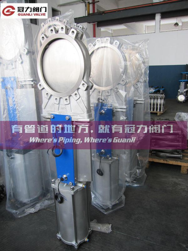 Stainless Steel JIS Knife Gate Valve