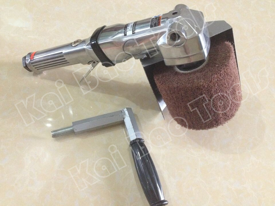 Air Wire Brushing Tools for 120 X 100mm Wheel