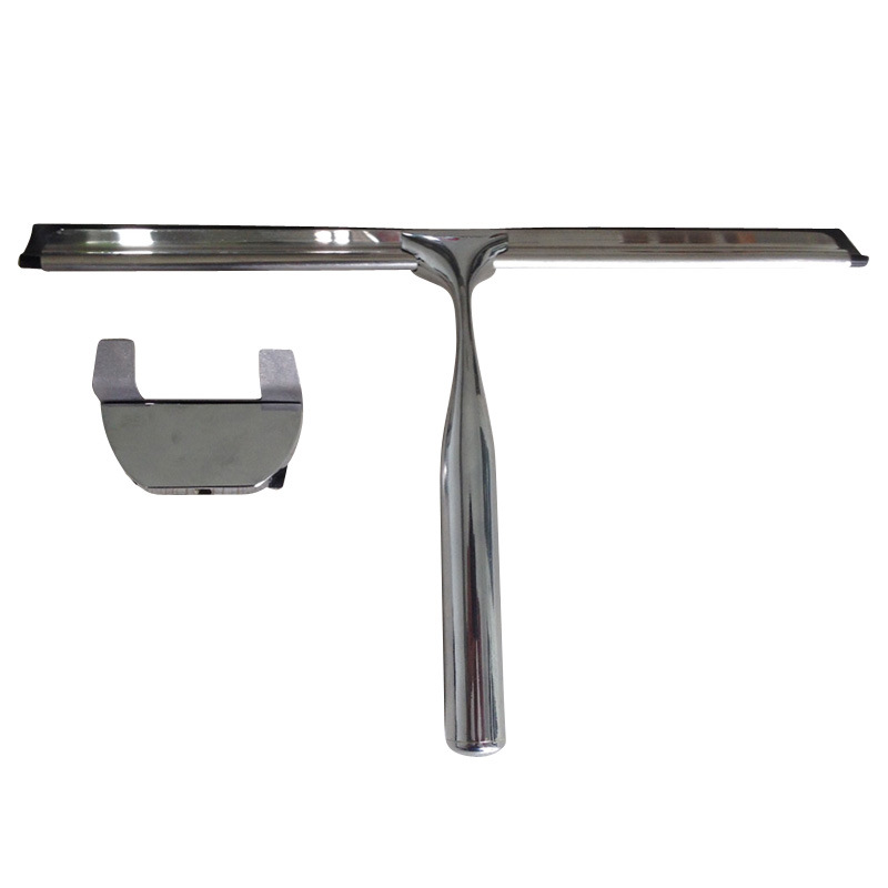 Luxurious Stainless Steel Bathroom Window Wiper Including Wall Bracket