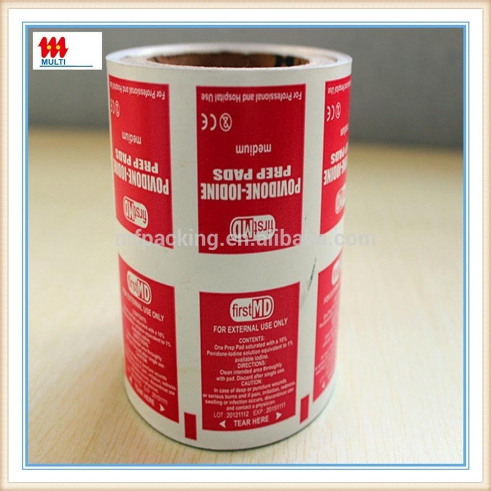 Metalized Paper Aluminium Paper for Alcohol Swab