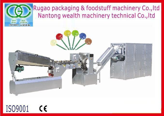 Qb-528 Lollipop Production Line, Lollipop Making Machine