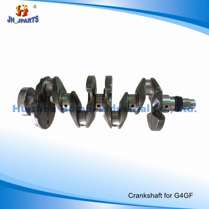 Car Parts Crankshaft for Hyundai G4GF 1.6 23110-2b000