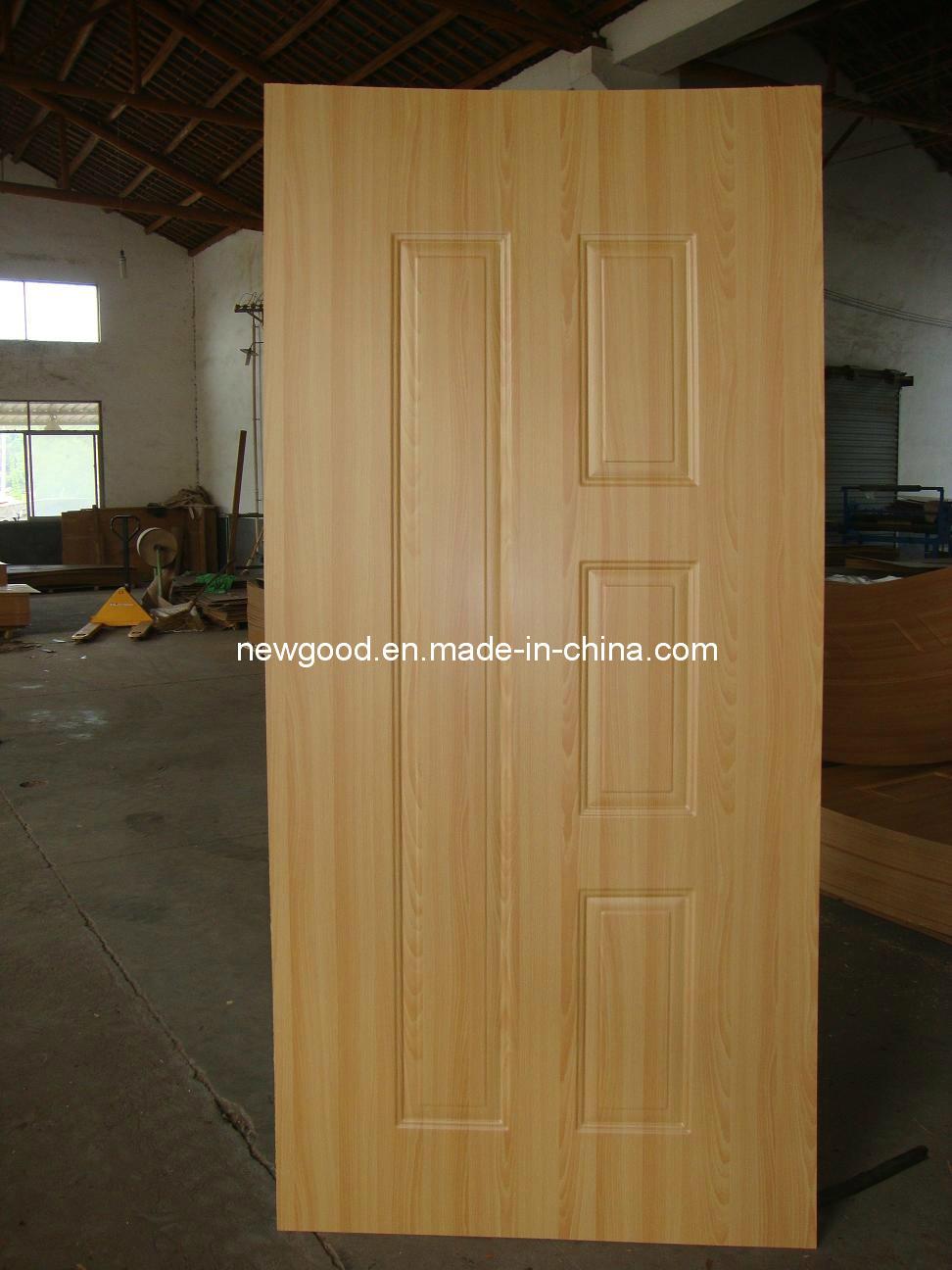 4.2mm Melamine HDF MDF Moulded Door Skin (Glossy, Matt)