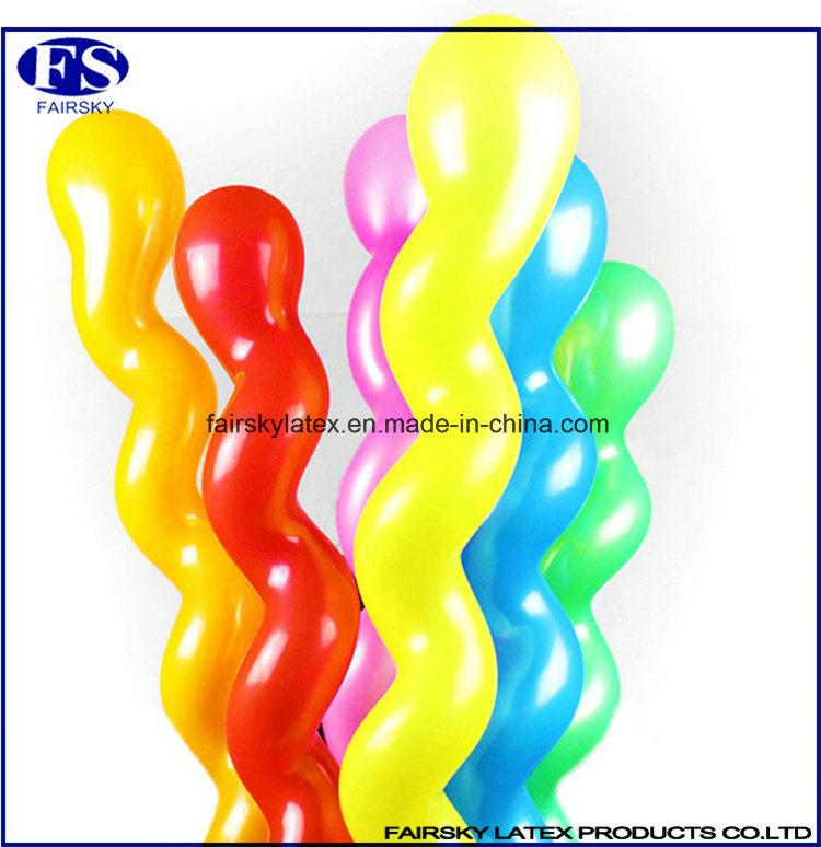 Spiral Balloon China Mnaufactured