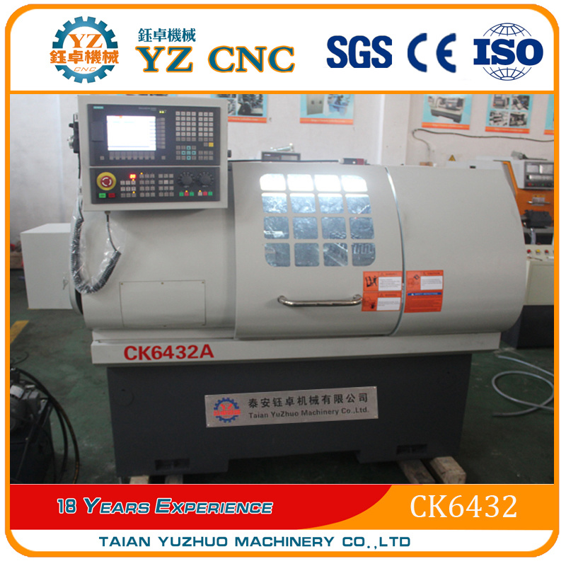 China CNC Lathe Ck6432 Flat CNC Lathes