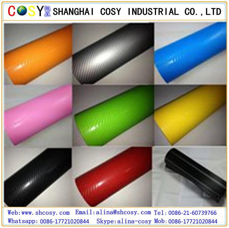1.52*30m Self Adhesive Vinyl Carbon Fiber Vinyl for Car Wrapping