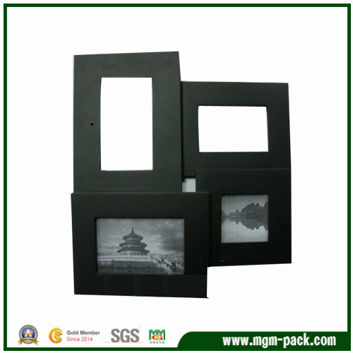 Fashion Customized Black Wooden Photo Frame for Gift