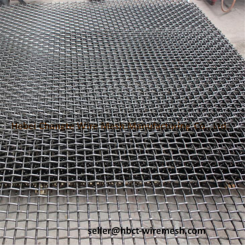Abrasion Resistance Metal Crimped Wire Mesh for Sand