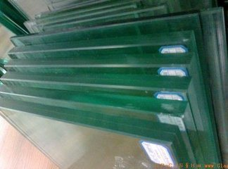 Toughened Safety PVB Laminated Glass