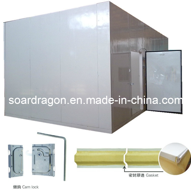 Fire Resistance PU Commercial Freezer Room Panel (DC)