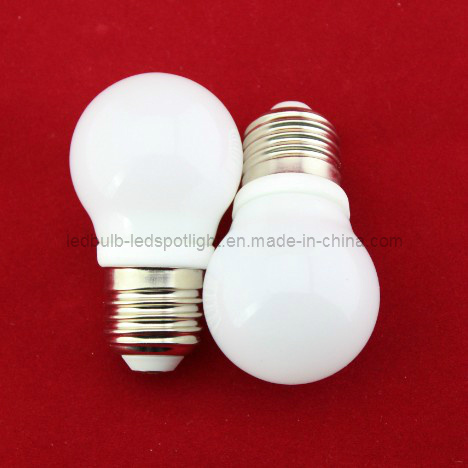 CE RoHS Certified 4W E27 Small Size COB LED Globe Light Bulb (ceramic)