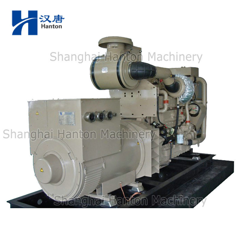 Cummins diesel generator set with KTA19-DM marine auxiliary engine marathon alternator