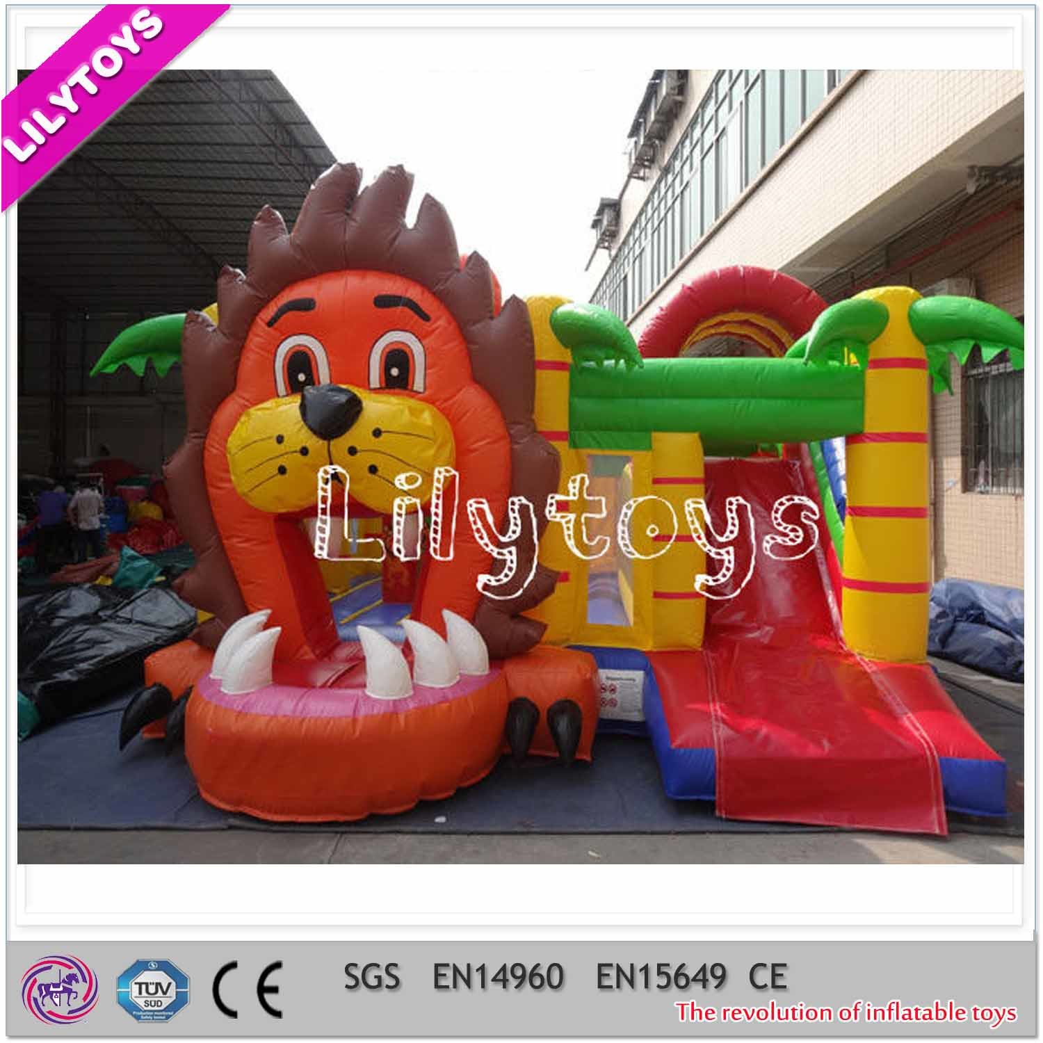 Inflatable Bouncy Castle with Slide and Bouncer