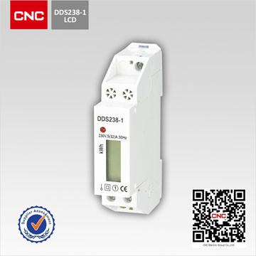 Dds226D-1p Single Phase DIN-Rail Watt-Hour Meter