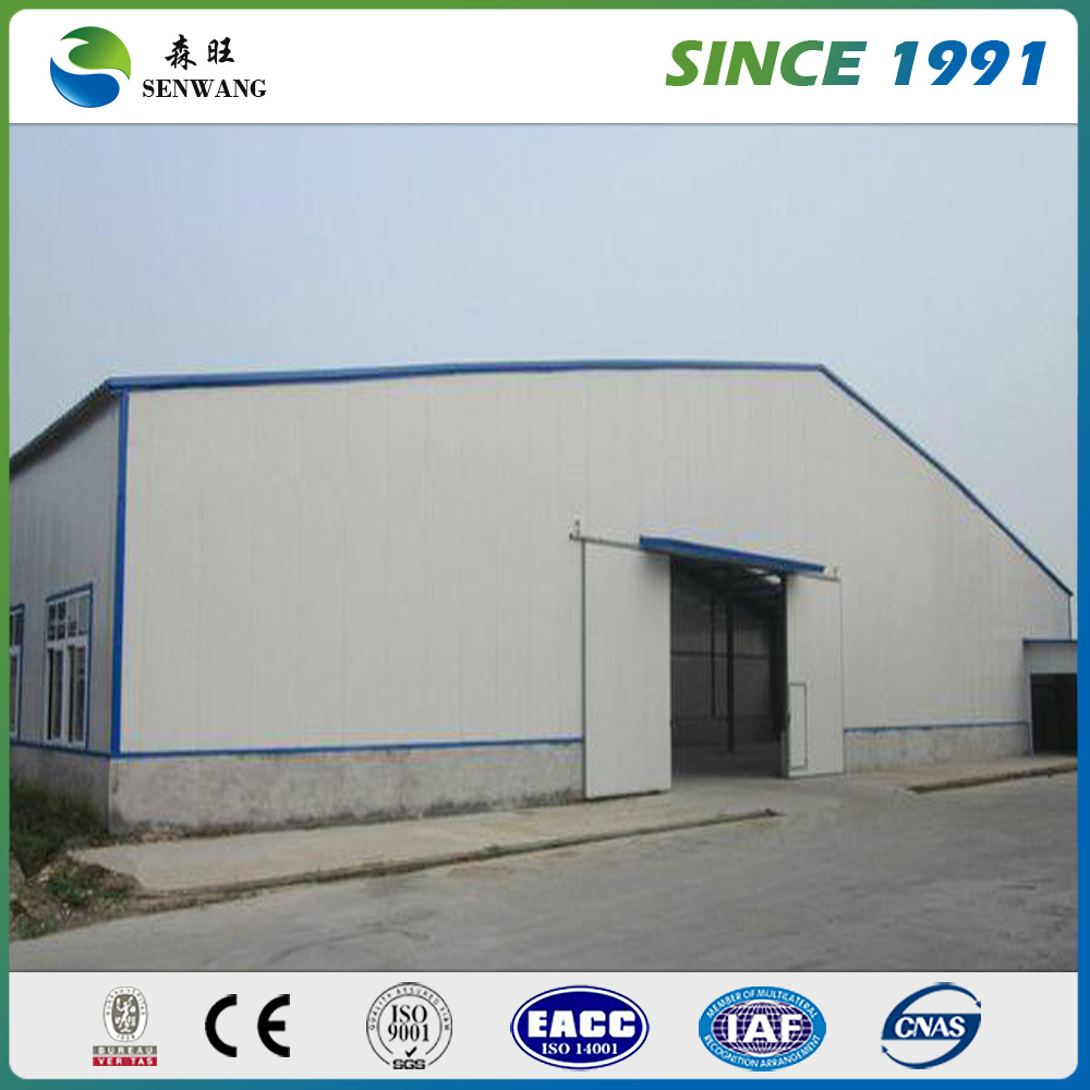 Prefaricated Light Steel Structure Warehouse, Prefabricated Steel Structure