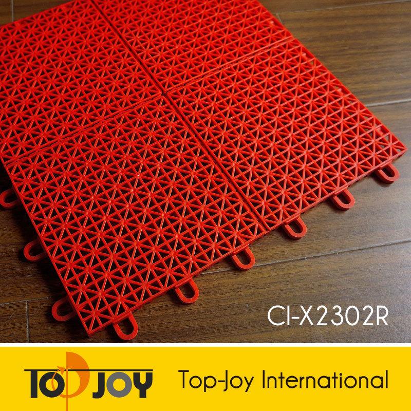 China hard plastic interlocking flooring tiles for for Hard vinyl floor tiles