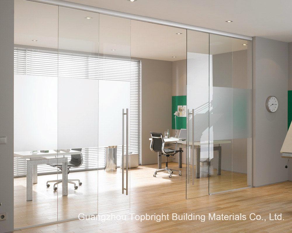 Frameless Glass Sliding Door (Hot Design)