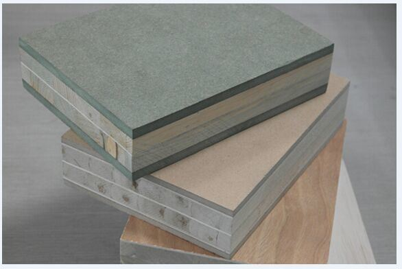 45mm Paulownia Blockboard with 6mm Green MDF