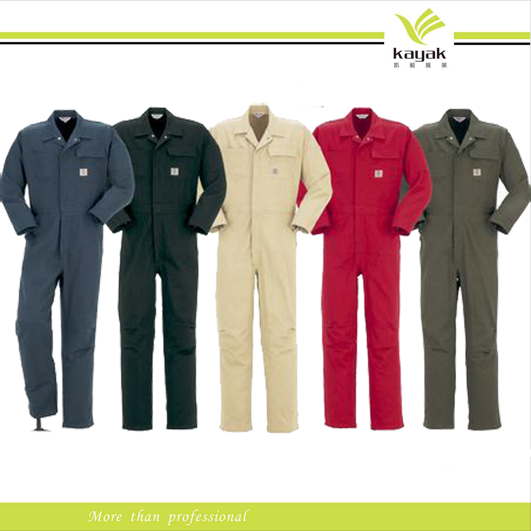 Customize Engineering Safety Uniform Embroidery Workwear Coverall (U-01)