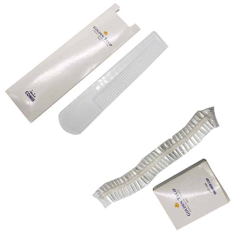 Golden Tulip Hotel Room Amenities Set Hotel Supply Manufacturer