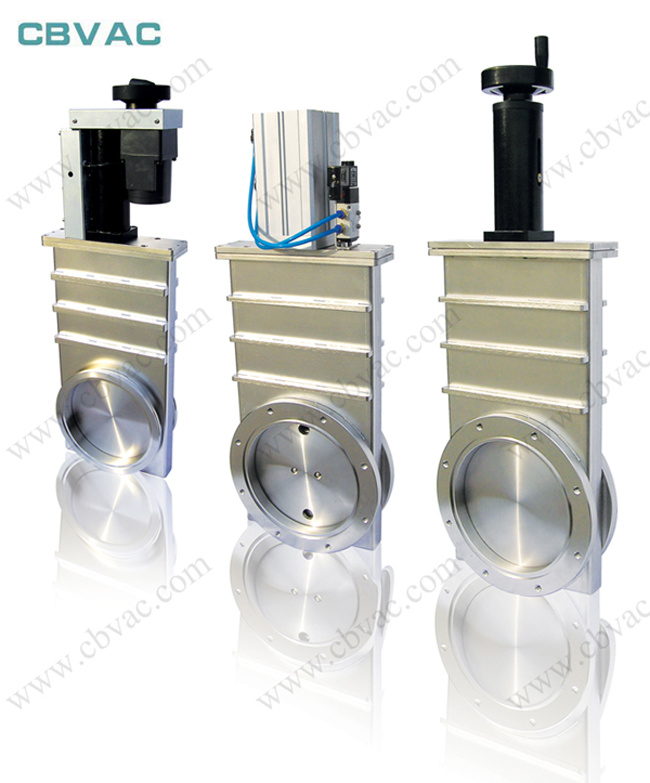 Pneumatic Gate Valve with GB-Lp Flange / Vacuum Gate Valve / Gate Valve