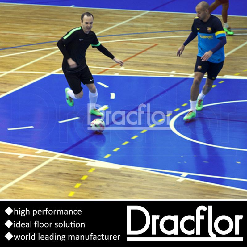 Vinyl Sports Flooring for Indoor Futsal Court