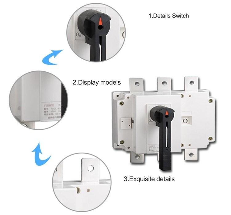 Rdgl-63A/3p Isolation Switch, Isolator Load Breaker Switch