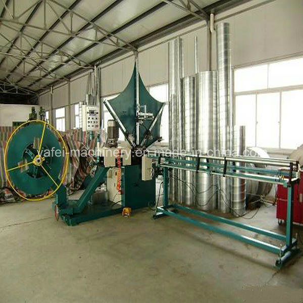Tube Mould Type Spiral Forming Machine