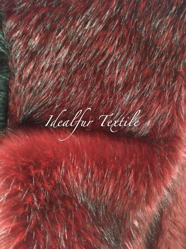 Artificial Fox Faux Fur / High Quality Fake Fur