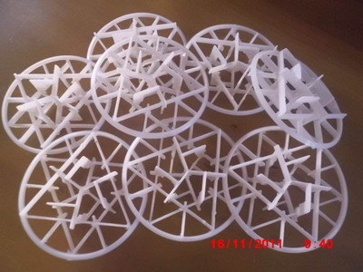 Intalox Snowflake Ring (PVDF, PP, PVC, CPVC)