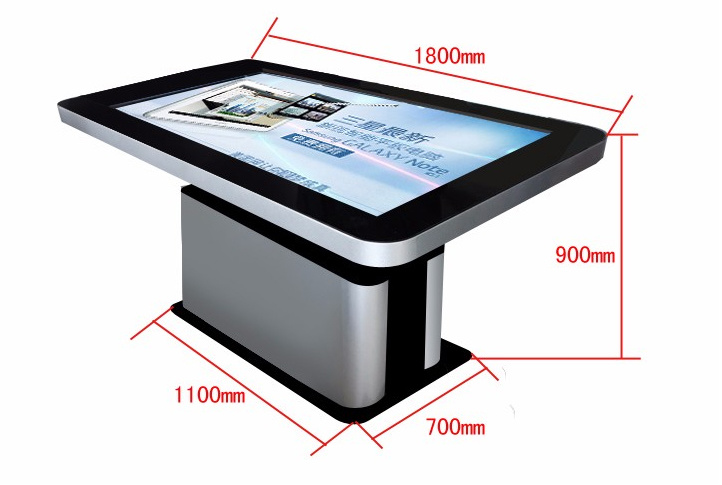 """2017! ! New! ! 55"""" Big Screen IR Infrared Touch Screen LCD Android Interactive Touch Kiosk"""