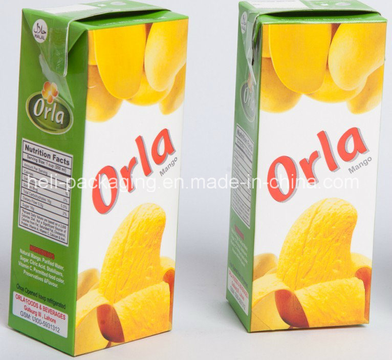 Carton Box for Milk and Juice
