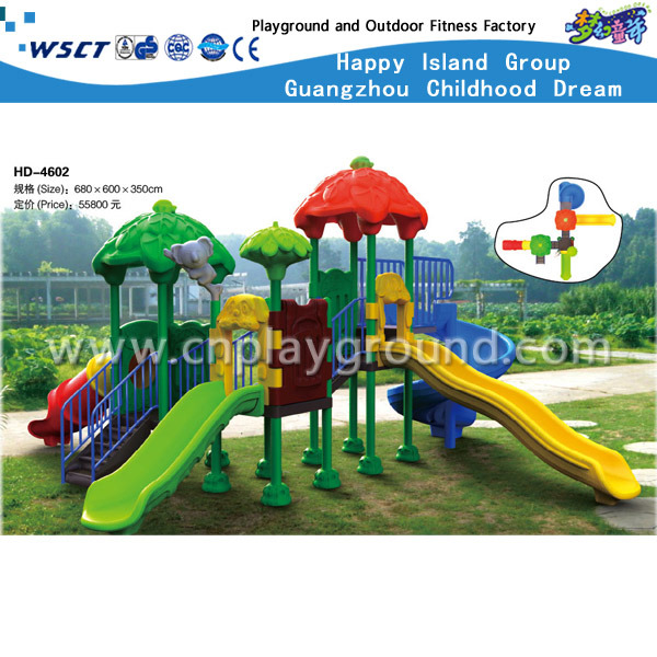 Hot Selling Children Indoor Playground Equipment Small Amusement Games Set (HD-4402)