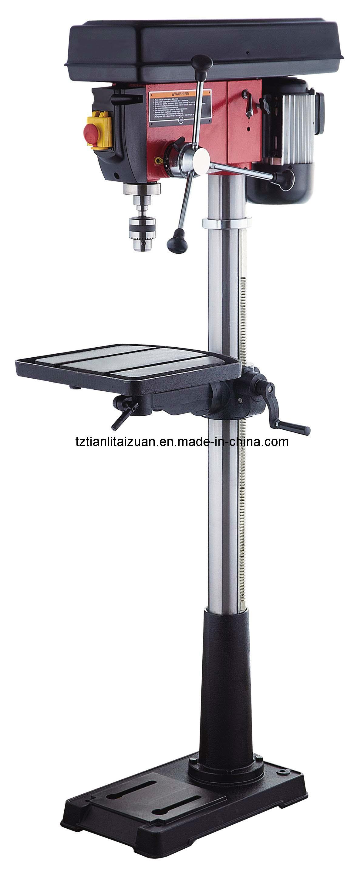 25mm drill 16 speeds 1100w floor type drill press for 16 speed floor drill press