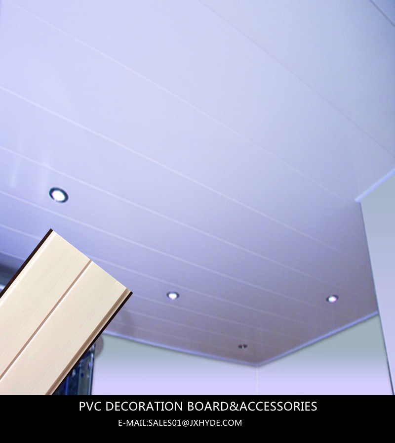 250mm Width Waterproof Decorative Material Ceiling Decoration (RN-87)