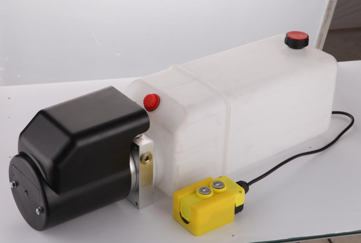 12VDC Double Acting Remote Controlled Hydraulic Pump - Remote Included