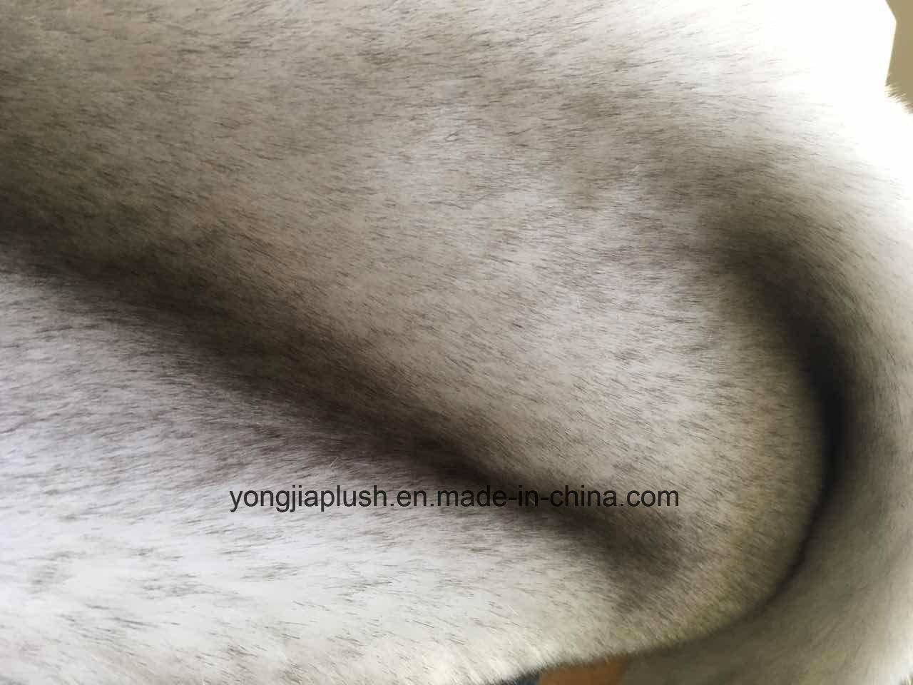 Soft Quality Warm Winter Silver Grey Snow Fox