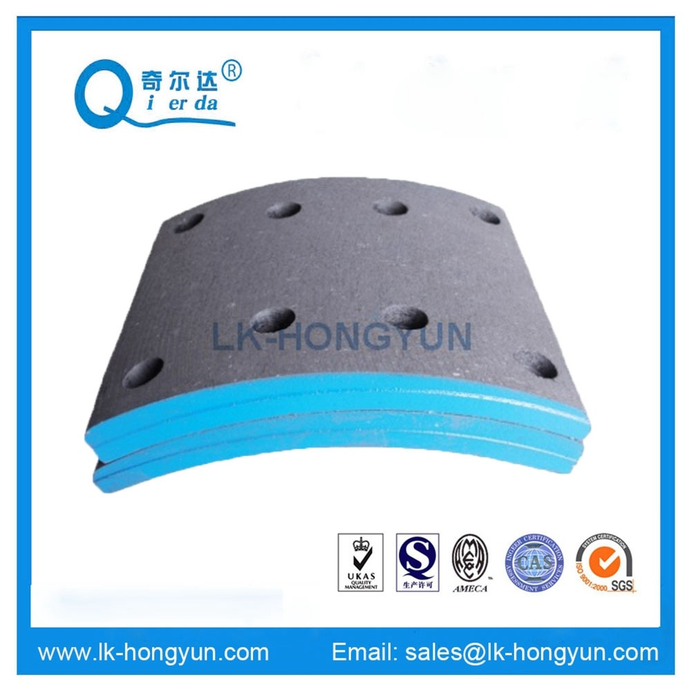 High Quality Non Asbetsos Brake Lining MP31 19486 for Benz Truck