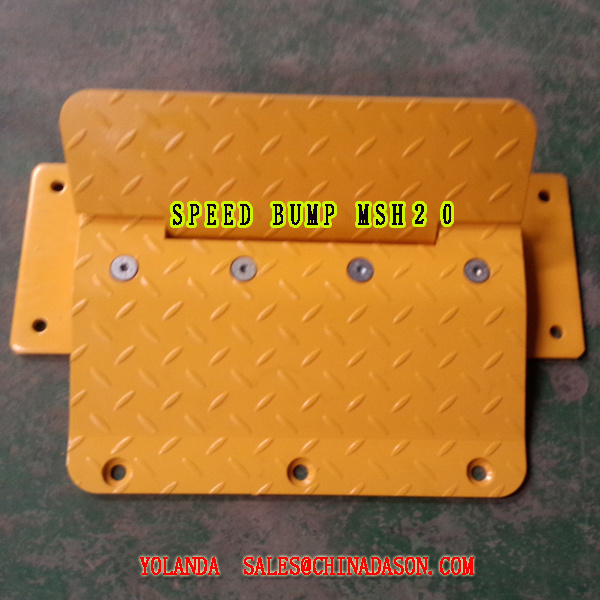 Metal One Way Traffic Flow Plate Msh20