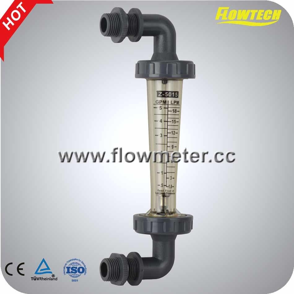 Pipeline Flowmeter Polycarbonate Z-500 Flowmeter Flow Meter