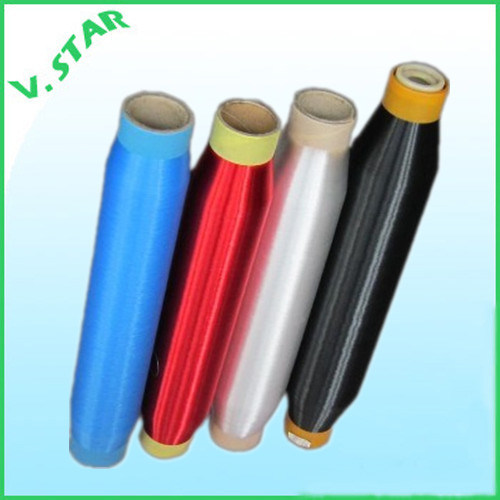Dope Dyed Polyester Monofilament Yarn 0.08mm to 1.0mm