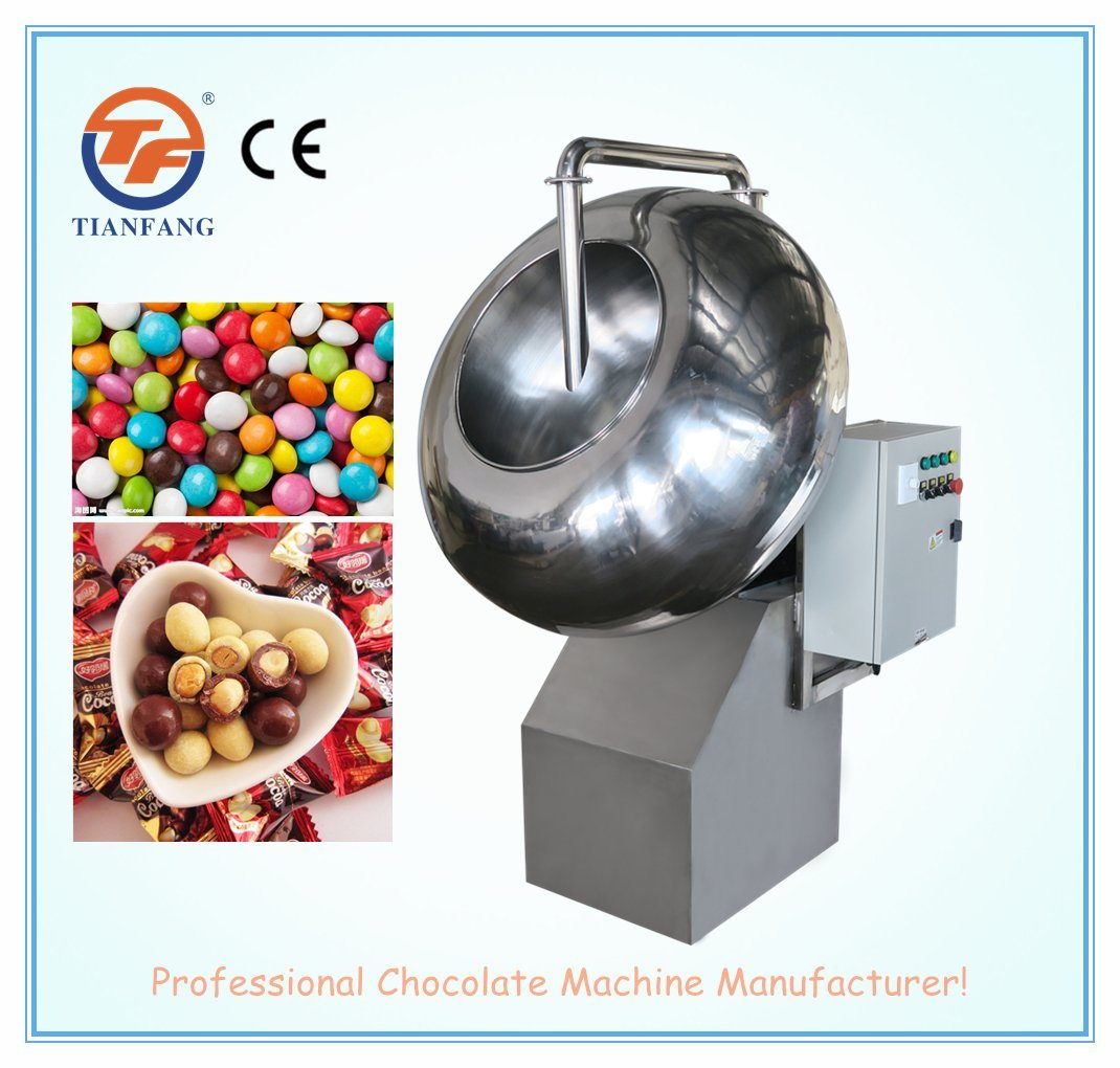 Chocolate Coating Machine for Nuts