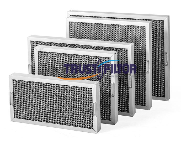 Rangehood Honeycomb Grease Filters for Commercial Kitchen Canopy