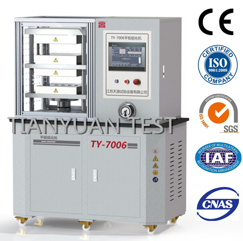 Ty-7006 Vulcanizing Press Machine/ Rubber Plate