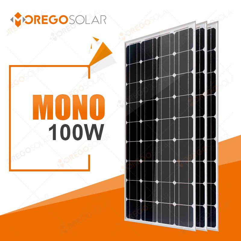 Morego PV Solar Panel / Module 100W Mono for Home Lighting
