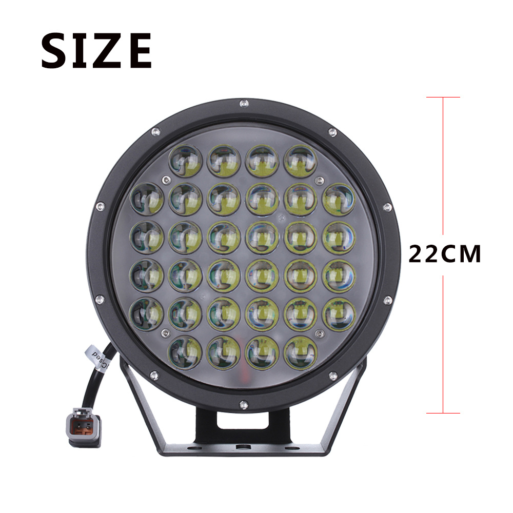 "9"" Inch 320W Round Offroad LED Driving Light for Truck Tractors"