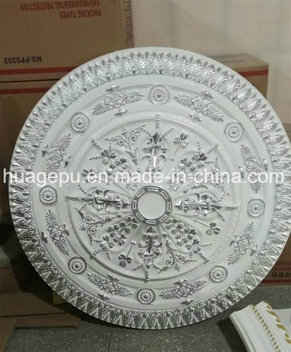 Factory Wholesale PU Foam Ceiling Medallion Mouldings for Interior Decoration
