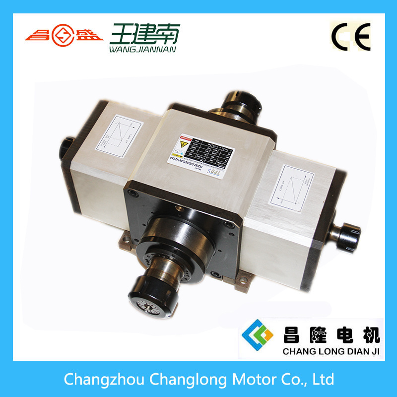 Four-Head CNC Spindle Motor for Wood Carving